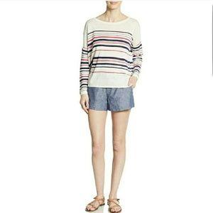 Joie Chambrey Linen Shorts